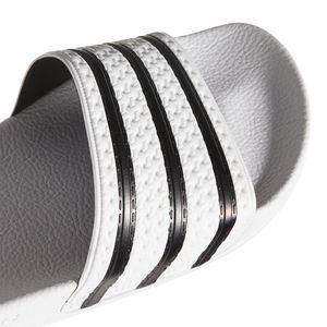 adidas Originals Adilette Badeschuhe weiß schwarz 280648 – Bild 4