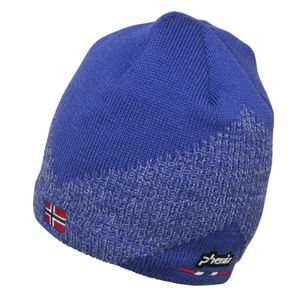 Phenix Norway Alpine Team Beanie Herren Strickmütze blau EF878HW00 RB – Bild 1