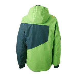 Brunotti Kentucky JR Boys Jacket Kinder Skijacke grün grau  – Bild 2