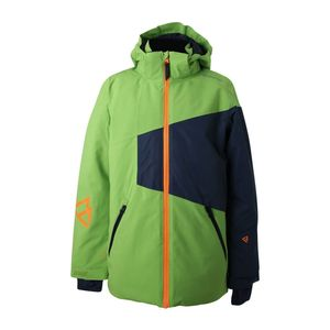 Brunotti Kentucky JR Boys Jacket Kinder Skijacke grün grau  – Bild 1