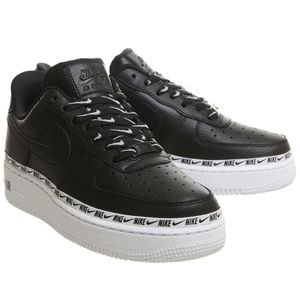 Nike W Air Force 1 '07 SE PRM Damen Sneaker schwarz weiß AH6827 002 – Bild 3