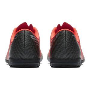 Nike JR Vapor 12 Academy GS CR7 IC Fußballschuhe rot AJ3099 600 – Bild 4