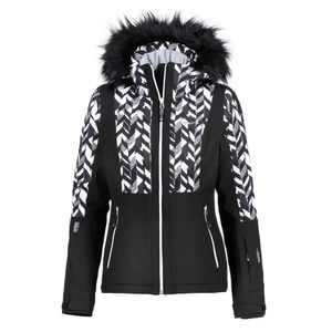 Icepeak Nancy Damen Skijacke schwarz weiß 2-53 115 567 I 990 – Bild 1