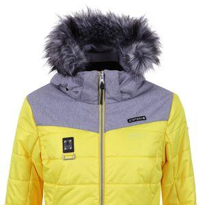 Icepeak Pride Damen Ski Winterjacke gelb grau 2-43 269512 I 435 – Bild 2