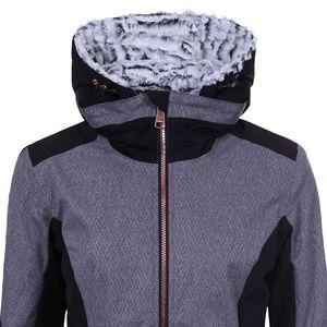 Luhta Blanka Damen Skijacke grau schwarz 2 32440 413 L 810 – Bild 4