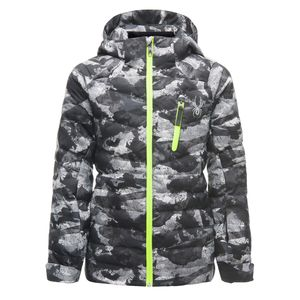 Spyder Impulse Synthetic Down Jacket Kinder Skijacke grau 183011 026 – Bild 1