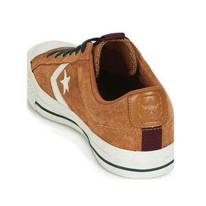 Converse Star Player OX Herren Leder Sneaker braun weiß 162566C – Bild 4