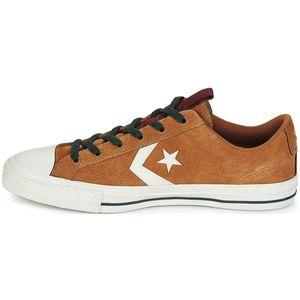 Converse Star Player OX Herren Leder Sneaker braun weiß 162566C – Bild 2
