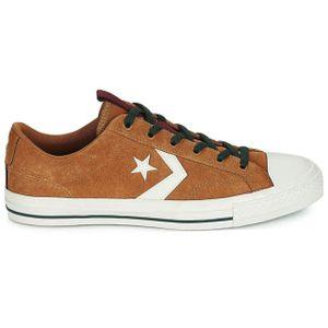 Converse Star Player OX Herren Leder Sneaker braun weiß 162566C – Bild 1