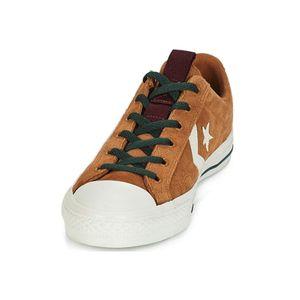 Converse Star Player OX Herren Leder Sneaker braun weiß 162566C – Bild 3