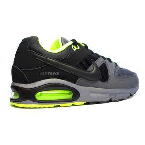 Nike Air Max Command Sneaker schwarz grau neon – Bild 3