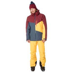 Protest Yoyo Herren Ski Snowboardjacke grau blau weinrot 6710882 539 – Bild 2