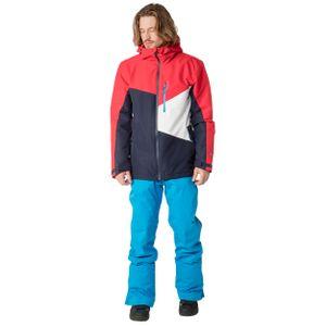 Protest Yoyo Herren Ski Snowboardjacke rot blau weiß 6710882 222 – Bild 2