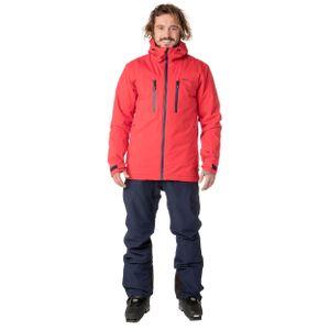 Protest Clavin 18 Herren Ski Snowboardjacke rot 6710682 222 – Bild 2