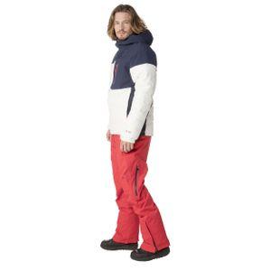 Protest Mount 18 Herren Ski- Snowboardjacke weiß blau 6712282 401 – Bild 3