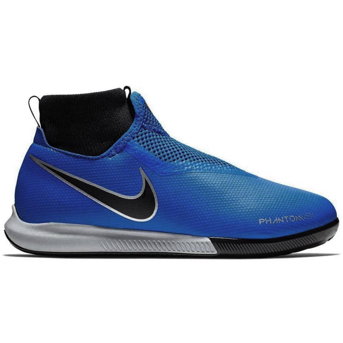 Nike JR Phantom VSN Academy DF IC Fußballschuhe blau schwarz AO3290 400
