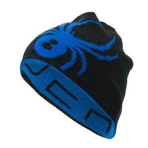 Spyder Reversible Innsbruck Hat Herren Mütze schwarz blau 185100 482 – Bild 1