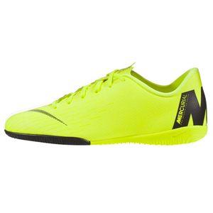 Nike JR Vapor 12 Academy PS IC Hallenschuhe neongelb AH7352 701 – Bild 2