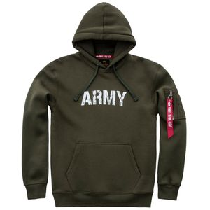 Alpha Industries Army Navy Hoody Pullover dark green 178315 257