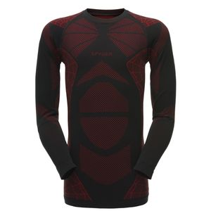 Spyder Captain Baselayer Top Herren schwarz rot 181062 018 – Bild 1