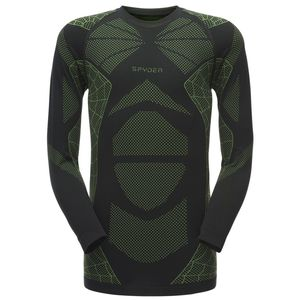 Spyder Captain Baselayer Top Herren schwarz grün 181062 019
