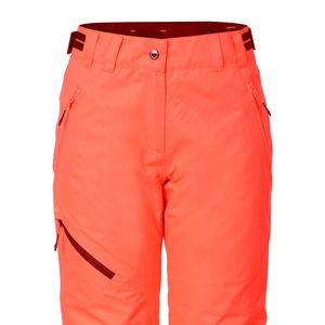 Icepeak Josie Snowpant Damen Skihose neon orange 2-54 090 659I 455 – Bild 2