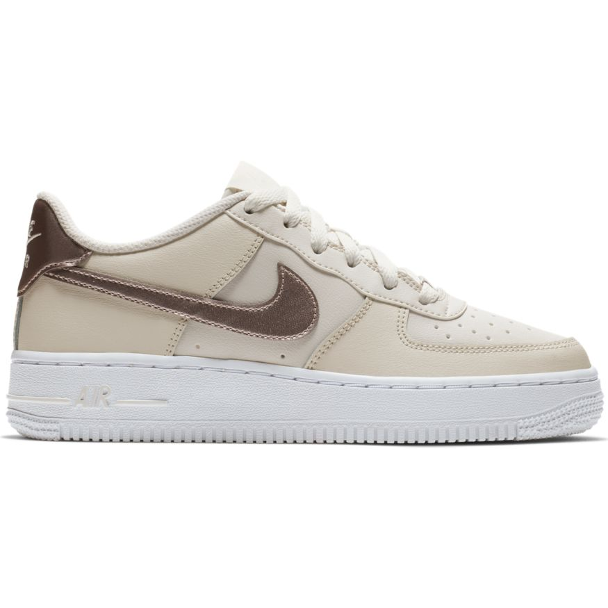 size 40 3ed1c 98f01 Nike Air Force 1 GS Sneaker phantom metallic bronze 314219 0