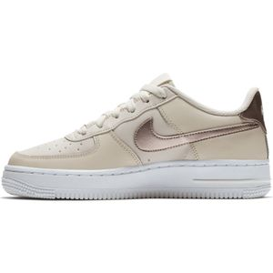 Nike Air Force 1 GS Sneaker phantom metallic bronze 314219 021 – Bild 2
