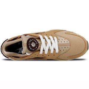 Nike Air Huarache Run PRM Herren Sneaker beige 704830 202 – Bild 4