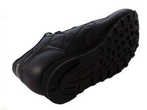 Reebok Classic Leather Herrensneaker schwarz – Bild 3