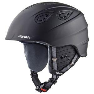 Alpina Grap 2.0 Skihelm black matt 57 - 61 cm A9085333 – Bild 1