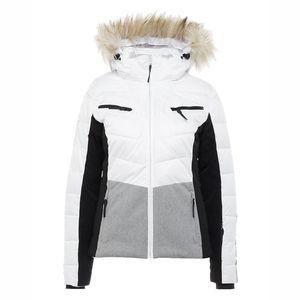 Icepeak Valda Damen Ski Winterjacke weiß grau 2-53 297 512 XF 980 – Bild 1