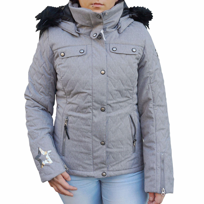 Icepeak Yvette Damen Ski Winterjacke grau 2/53 130 611I 810