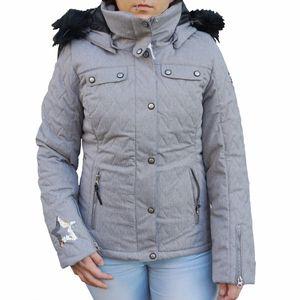 Icepeak Yvette Damen Ski Winterjacke grau 2/53 130 611I 810 – Bild 1