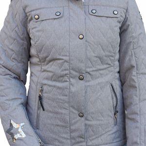Icepeak Yvette Damen Ski Winterjacke grau 2/53 130 611I 810 – Bild 2