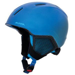 Alpina Carat LX Kinder Skihelm blau glänzend 48 - 52 cm A9081182