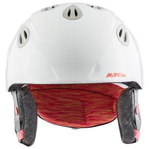 Alpina Grap 2.0 JR Kinder Skihelm weiß glänzend 51 - 54 cm A9086115 – Bild 4
