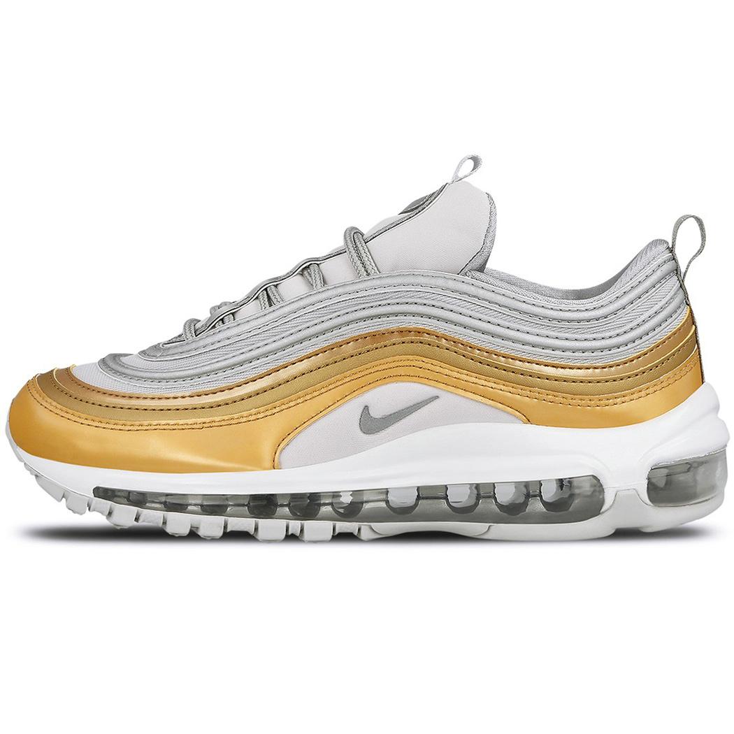Nike W Air Max 97 SE Sneaker grau gold silber low