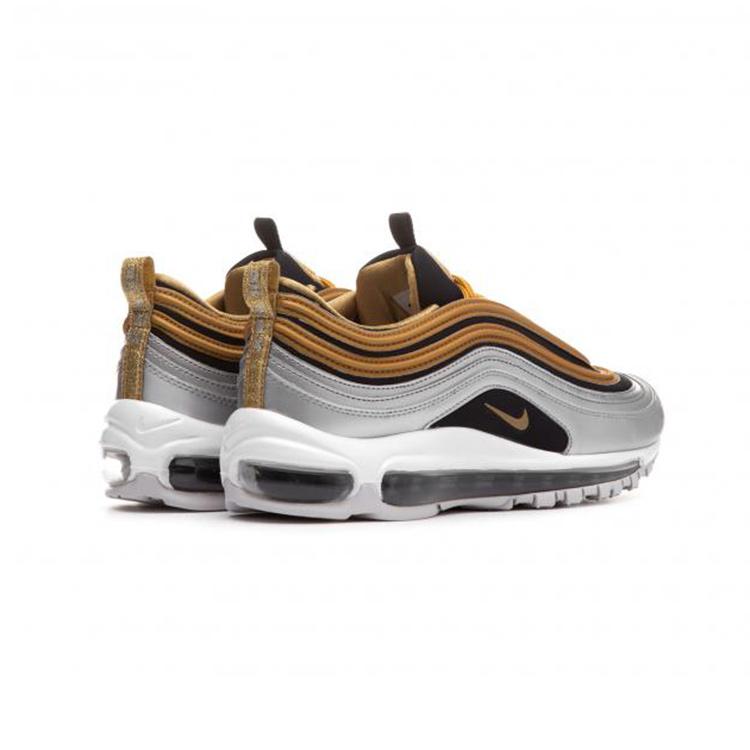 Details zu Nike Air Max 97 SE Sneaker Freizeitschuh Damen Schuhe Gold AQ4137 700