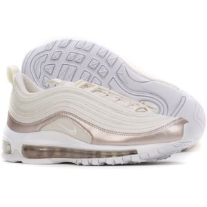 Nike Air Max 97 GS Sneaker weiß rose metallic 921523 002 – Bild 4
