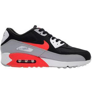 Nike Air Max 90 Essential Herren Sneaker schwarz grau rot AJ1285 012