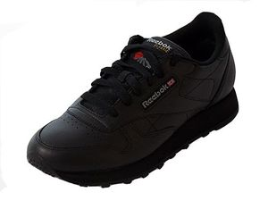 Reebok Classic Leather Damensneaker schwarz