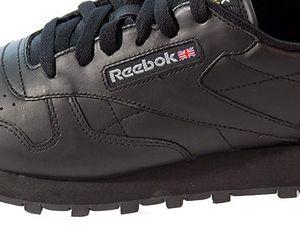 Reebok Classic Leather Damensneaker schwarz – Bild 4