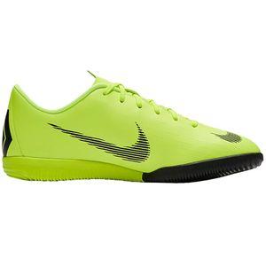 Nike JR Vapor 12 Academy GS IC Hallenschuhe neongelb AJ3101 701 – Bild 1