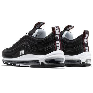 Nike Air Max 97 Premium Herren Sneaker schwarz weiß 312834 008 – Bild 3