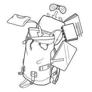 Burton Tinder Pack Backpack Rucksack Cocoa Brown Wxd Cnvs 16337106205 – Bild 5