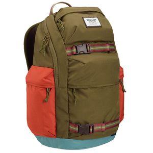 Burton Kilo Pack 27 Liter Rucksack olive rot grau 13649108319 NA