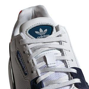 adidas Originals Falcon W Damen Sneaker weiß blau rot CG6246 – Bild 2