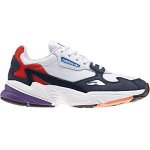 adidas Originals Falcon W Damen Sneaker weiß blau rot CG6246 – Bild 1