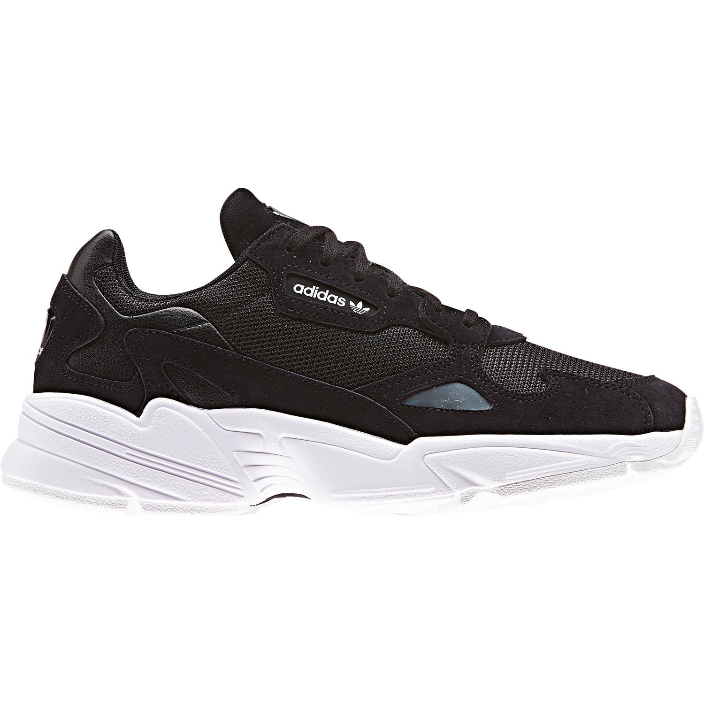adidas Originals Falcon W Damen Sneaker schwarz weiß B28129